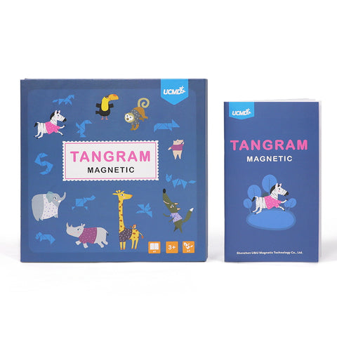 Magnetic Tangram with Wipe Clean Board