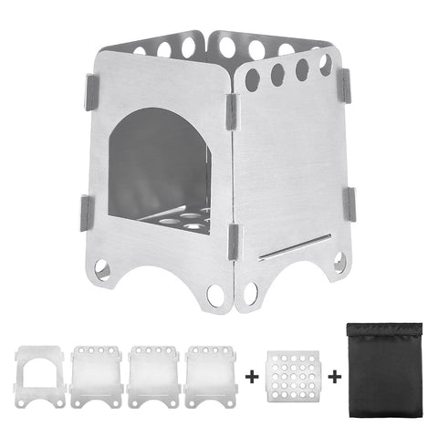 Image of Ultralight Titanium Camping Stove