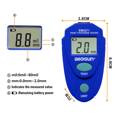 Image of Digital Coating Thickness Gauge