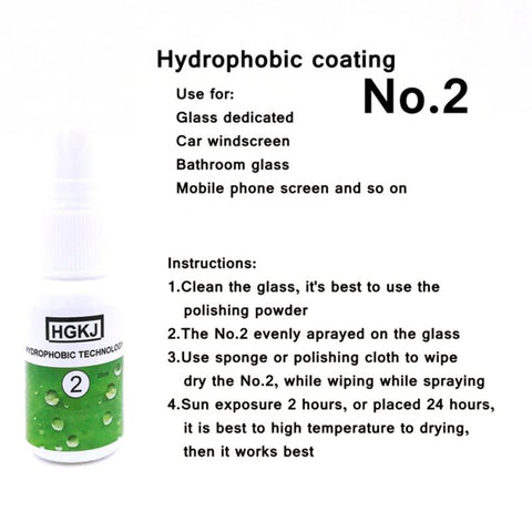 Image of Hydrophobic Protective Coating