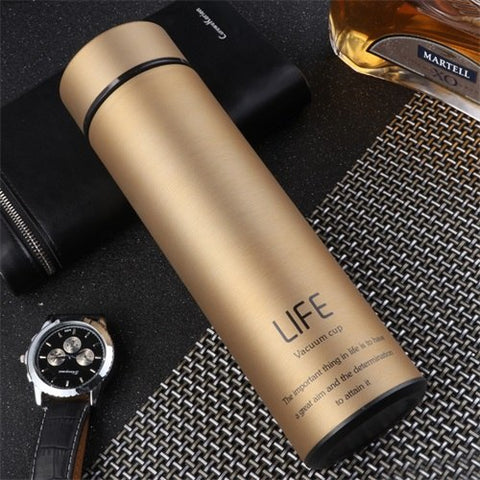 Thermos Vacuum Filter-Flask  (Stainless Steel)