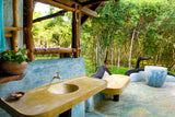 Mudhouse outdoor bathroom sri lanka yoga