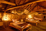 bedroom traditional sri lankan hut yoga retreat