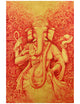 Vinayaki in Red and Gold - ORIGINAL