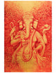 Vinayaki in Red and Gold - PRINTS