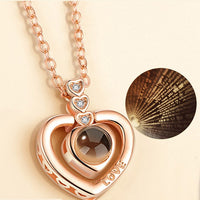 Collier Love Je t'aime 100 langues