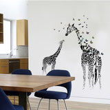 Sticker girafes