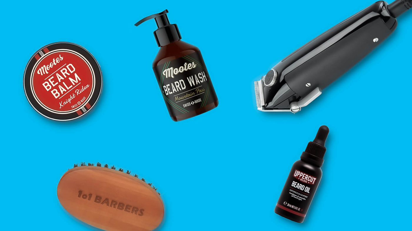 Beard products and trimmer