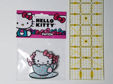 Load image into Gallery viewer, HELLO KITTY - HELLO KITTY IS MY CUP OF TEA PATCH
