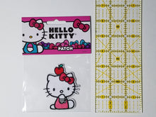 Load image into Gallery viewer, HELLO KITTY - APPLE ON THE HEAD PATCH