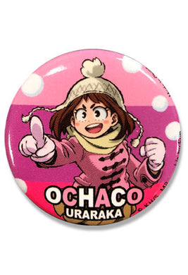 MY HERO ACADEMIA S2 - OCHACO #2 BUTTON 1.25''