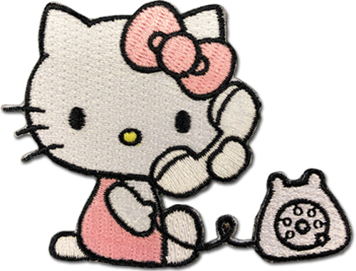 HELLO KITTY - HELLO KITTY with telephone PATCH