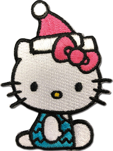 HELLO KITTY - HELLO KITTY with santa hat PATCH