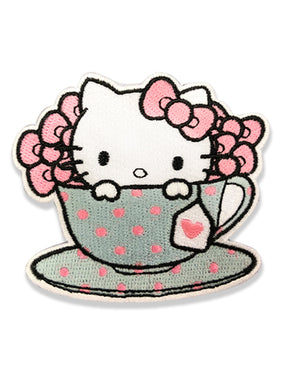 HELLO KITTY - HELLO KITTY IS MY CUP OF TEA PATCH