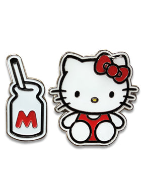 HELLO KITTY - LOVELY HELLO KITTY ENAMEL PIN SET
