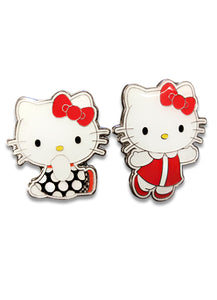 HELLO KITTY - RETRO HELLO KITTY ENAMEL PIN SET
