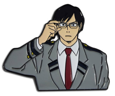 MY HERO ACADEMIA - IIDA ENAMEL PIN 2''