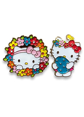 HELLO KITTY - EASTER 2017 ENAMEL PINS