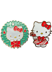 HELLO KITTY - HOLIDAY 2017 ENAMEL PINS