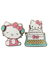 Load image into Gallery viewer, HELLO KITTY - CLASS 2017 ENAMEL PINS