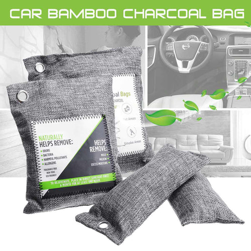 Air Purifier Bag Car Home Shoes Bamboo Charcoal Dehumidifier Odor Remover