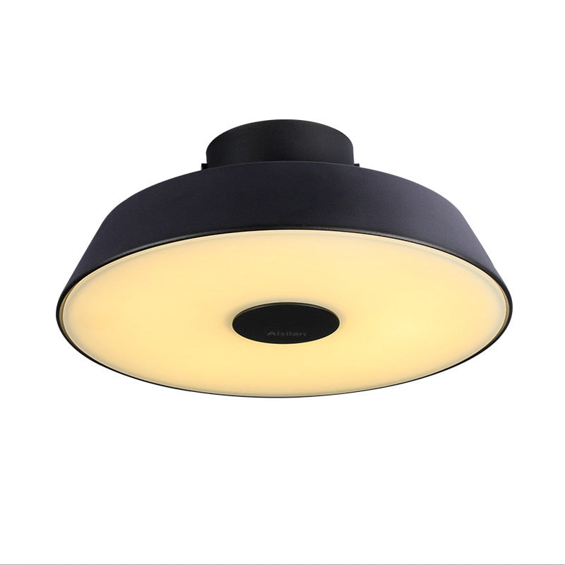 Round Circle Aluminum Modern Led ceiling light Adjustable lamp