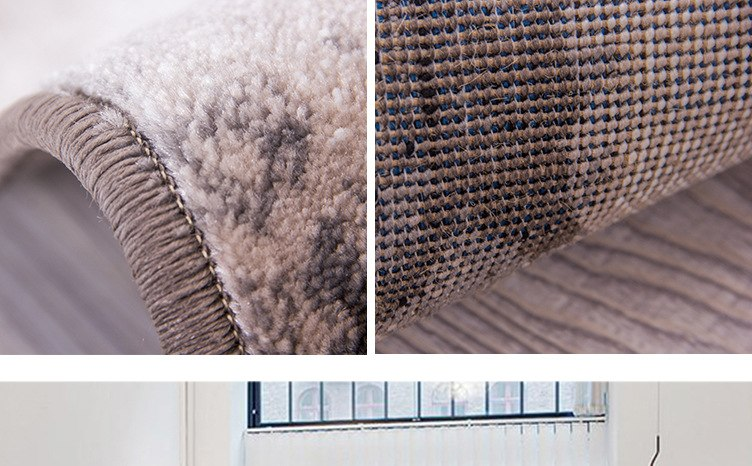 Luxury Mediterranean Style Thicker Polypropylene Large Carpets For Living Room Bedroom Rugs Home Area Carpet Floor Rug Door Mat