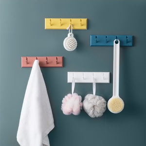 Minimalist ABS Wall Hanger Key Hook Storage Rack
