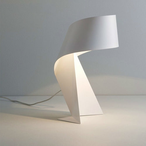 Modern Minimalist Black and White Origami Creative Table Lamp