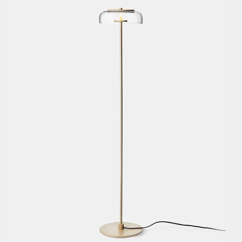 Interior Minimalist Gold Led Floor Lamp Modern