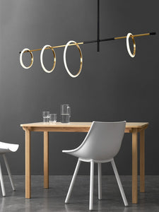 Modern LED Magnetic attraction chandelier lighting restaurant Pendant Lamp