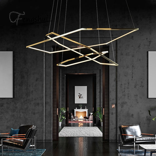 Modern LED chandeliers Suspension Decoration Decoration
