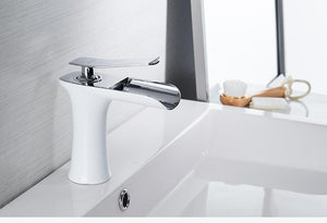Waterfall Single Handle Basin Faucet