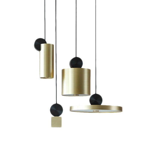 LuxNova-Simple Stylish Bronze Pendant lighting