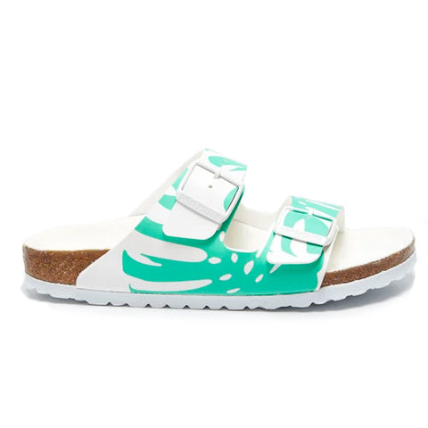 Birkenstock Arizona BFDD Monstera White 1019334