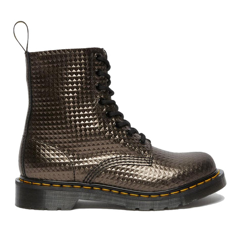 Dr. Martens 1460 Pascal Gunmetal Studded Leather 26656029