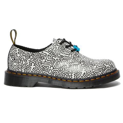 Dr. Martens 1461 Keith Haring Black+White Printed Smooth 26833009