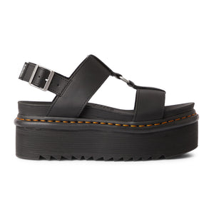 Dr. Martens Francis Black Hydro Leather Sandals 26525001