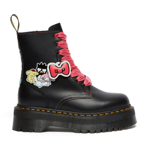 Dr. Martens Jadon x Hello Kitty and Friends Black Polished Smooth 26839001