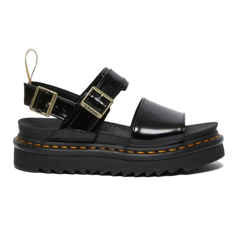 Dr. Martens Vegan Voss Black Oxford Sandals 26803001