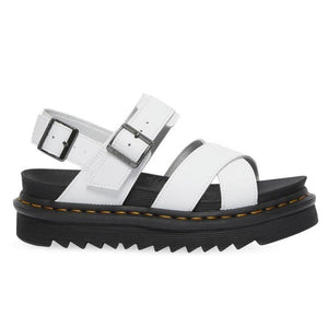 Dr. Martens Voss II White Hydro Leather Sandals 26799100