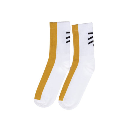TramTrys Yellow Stripe Socks