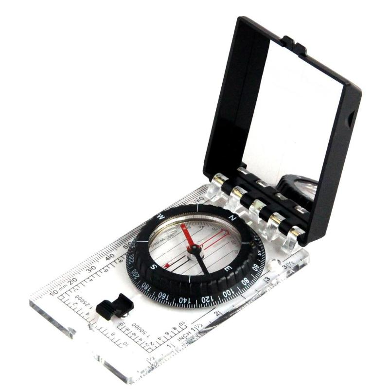 Multi-functional Compass w/ Ruler Compact - Camping And Outdoor Supplies