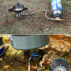 Windproof Stove Gas Burner - Camping And Outdoor Supplies