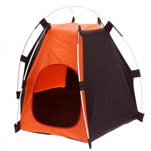 Portable Folding Pet Tent Foldable  Camping Pets Dogs Cats Tent House Shelter Rainproof Washable Pet Cage Tent  E5M1 - Camping And Outdoor Supplies