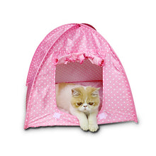 Load image into Gallery viewer, Foldable Dogs Cats Tent pet cat House dog cat bed All Seasons Dirt-resistant Outdoor Camping Home Travel House Pet Tent - Camping And Outdoor Supplies