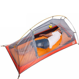 Ultralight 1 Person Double Layers Hiking Tent - Camping And Outdoor Supplies