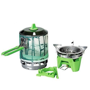 Gas Stove Burner Pot Picnic - Camping And Outdoor Supplies