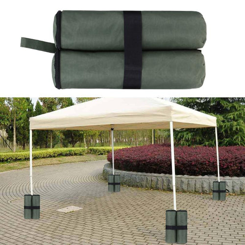 1PCS 40.5cm Leg Weights Bag Outdoor Camping Tent Anti-tear Instant Canopy Weight Sandbag Holder For Pop up Canopy Tent Shelter - Camping And Outdoor Supplies