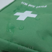Load image into Gallery viewer, Green Water-Resistant First Aid Bag - Camping And Outdoor Supplies